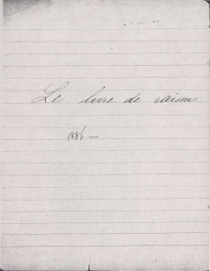 Le Journal d'Eugénie Garsin 001