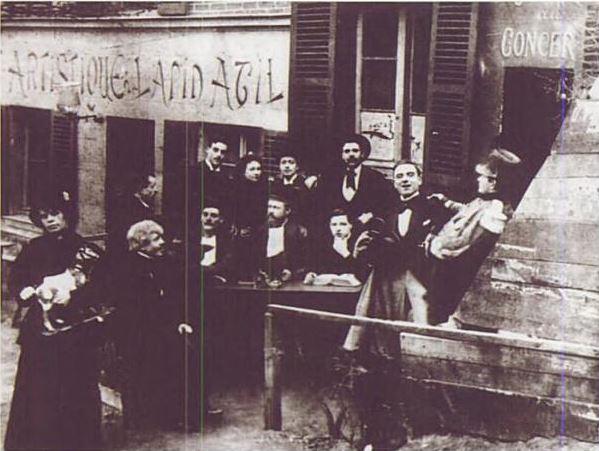 Le Lapin Agile en 1911
