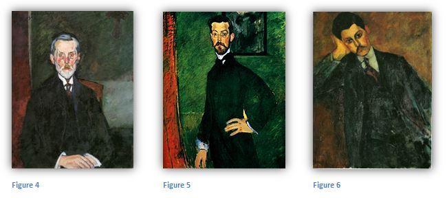 3 des portraits commandés par Paul Alexandre