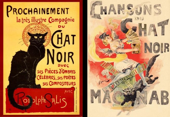 Affiches du Chat Noir