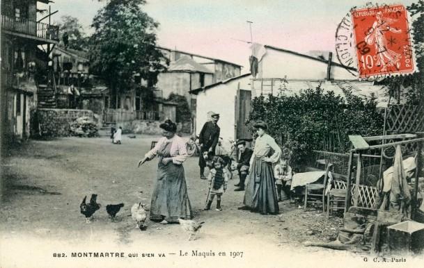Le maquis en 1907